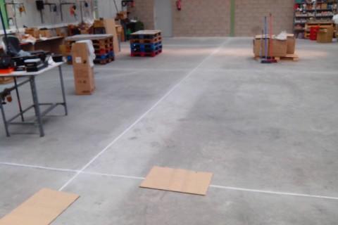 suelo antipolvo tratamiento juntas